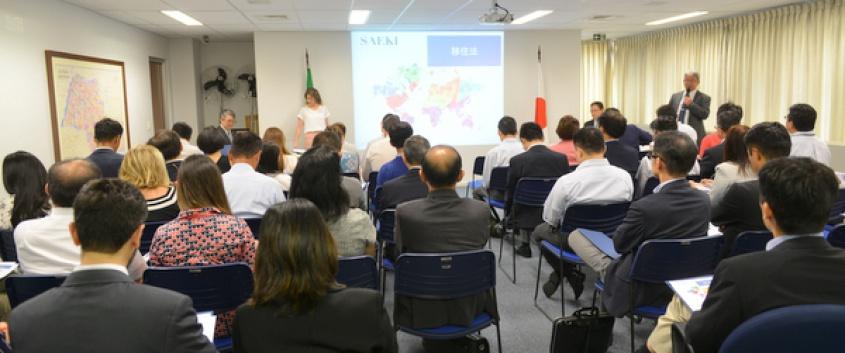 Seminário sobre a Nova Lei de Migração no Brasil e impacto às empresas multinacionais