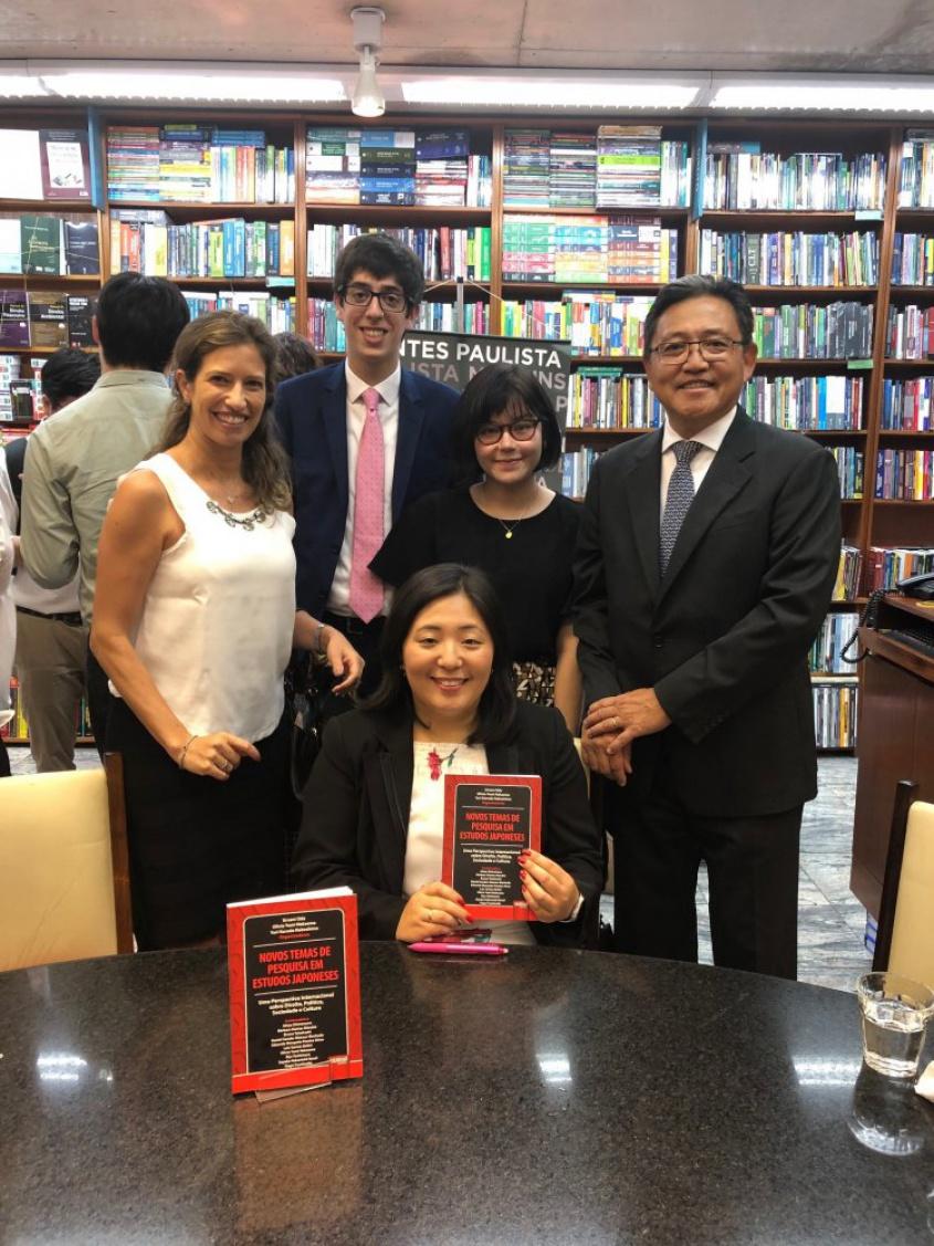 """Lançamento do livro """"Novos Temas de Pesquisa em Estudos Japoneses"""","""